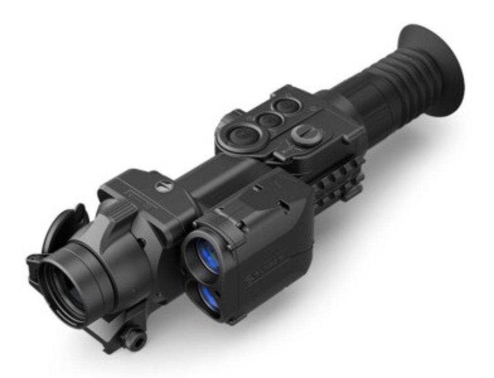 PULSAR脉冲星APEX LRF XD50 XD75 1000米测距热成像瞄准器 XD75 测距热瞄