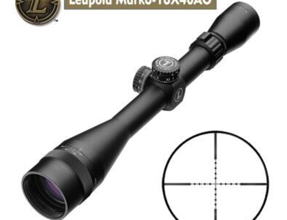 美国刘坡Leupold6-18X40AO流坡密位分化瞄准器 20mm皮轨高