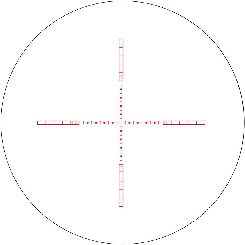 原装进口霍克瞄准镜 Hawke 6.5-20x42 HK4026 多密位分划