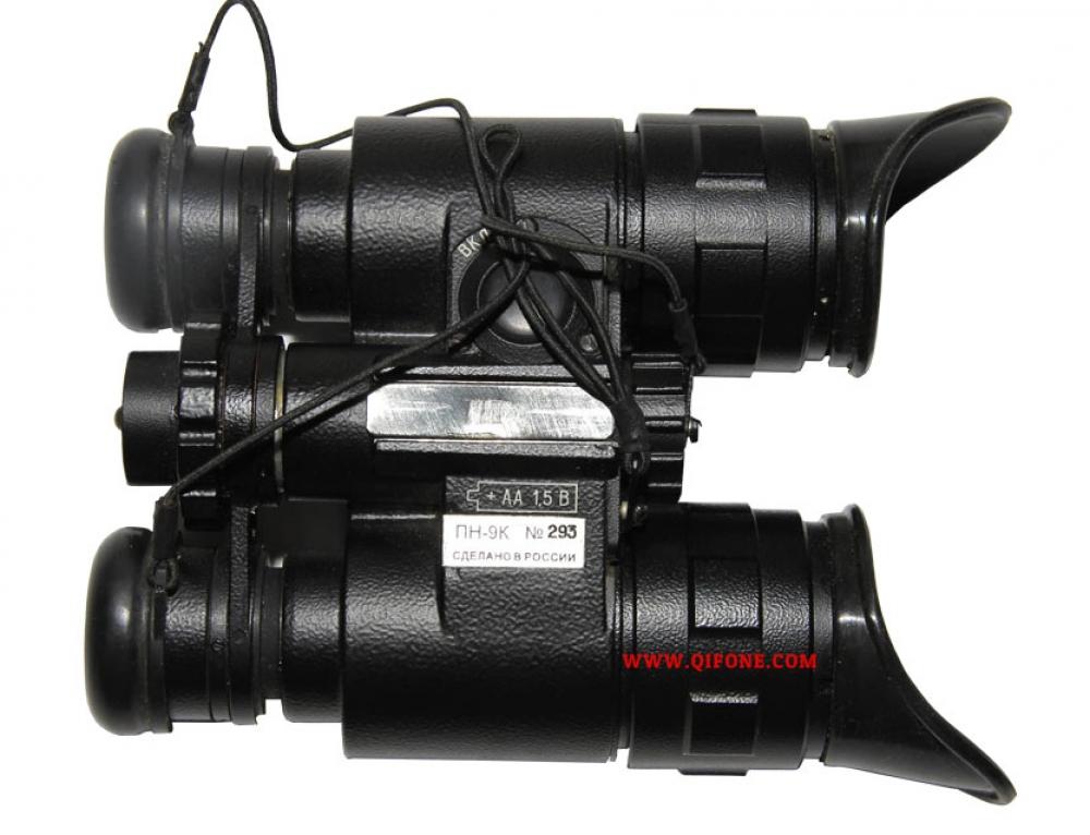 俄罗斯NPZ超二代微光军用夜视仪 PN9K 头戴式双目双筒