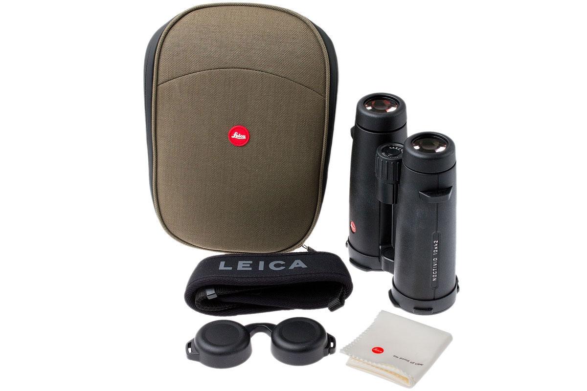 德国Leica 徕卡双筒望远镜 Noctivid 10x42 40385 黑色