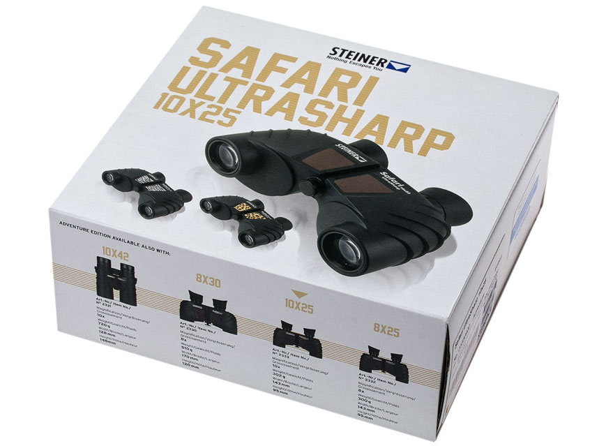 视得乐望远镜旅行家-迷你保罗2333 Safari UltraSharp 10x25