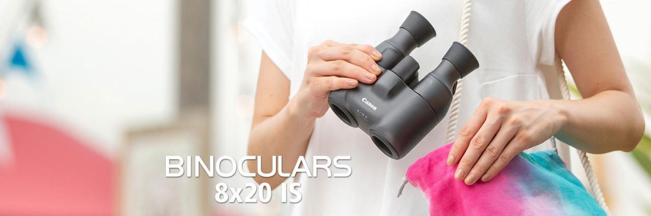CANON 佳能 8x20 IS双筒稳像仪 电子防抖望远镜